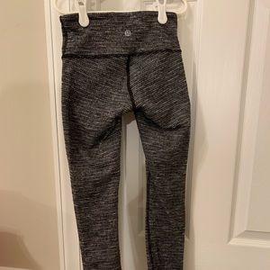 Lululemon Leggings (Double Wool Weaved)